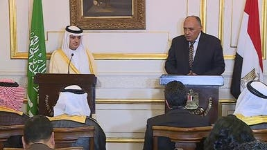 الجبير وشكري: ملتزمون بمواجهة الإرهاب ومنع عمليات دعمه