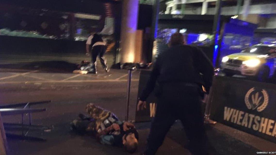 حثة أحد منفذي هجمات لندن الإرهابية