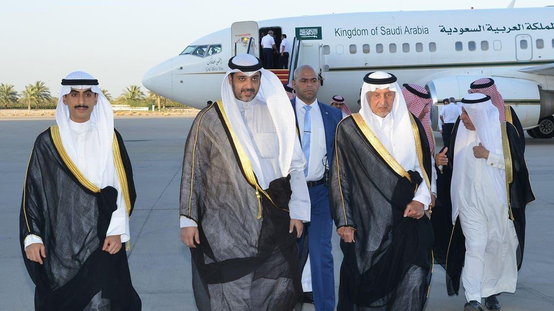 مستشار الملك سلمان يصل الكويت 5-6-2017