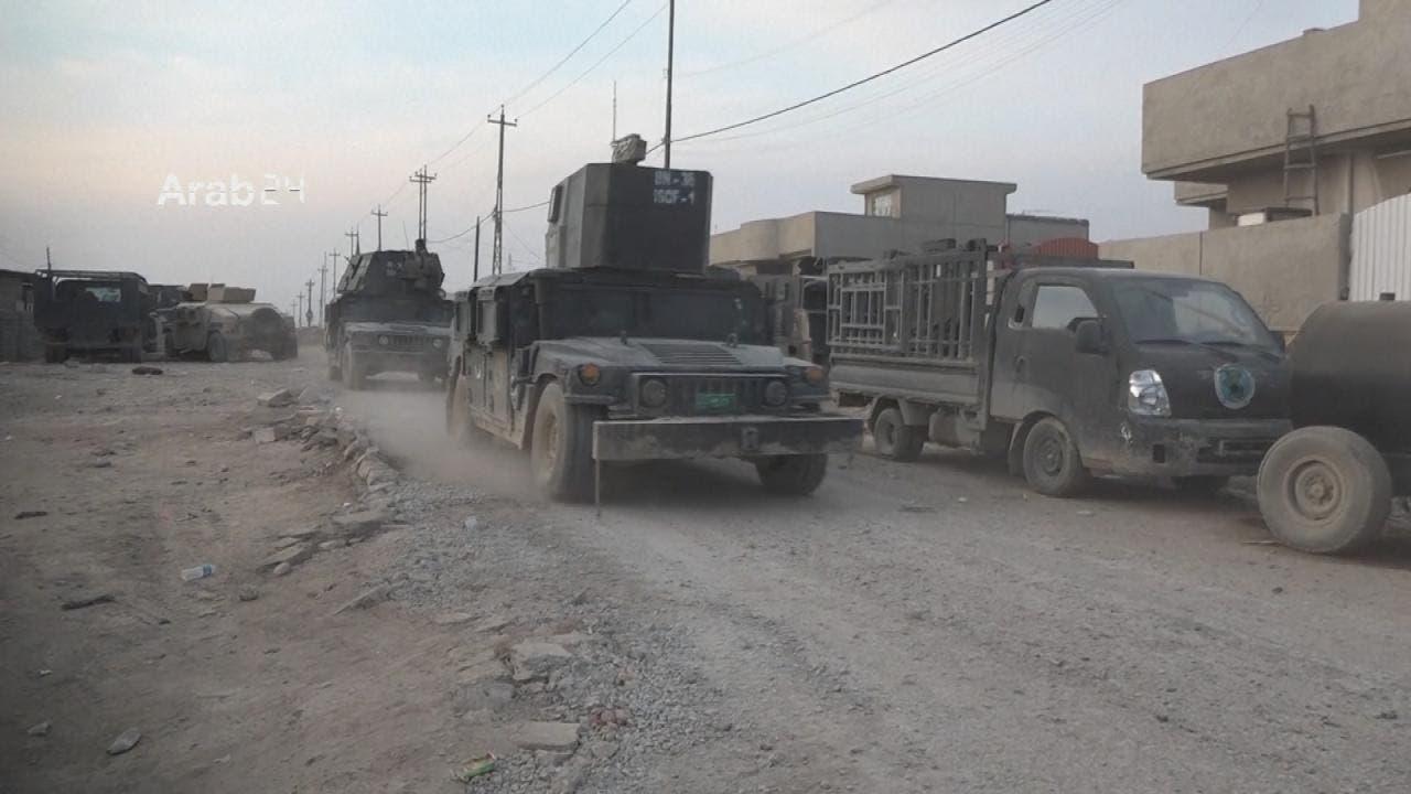من عمليات سابقة للجيش العراقي في الموصل