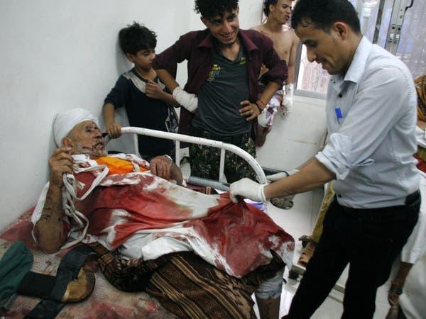 قصف عنيف وعشوائي من الانقلابيين على شرق وشمال تعز