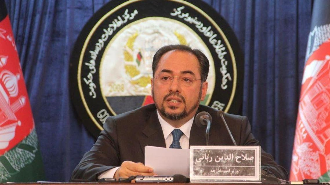 وزیر خارجه افغانستان: «حنیف اتمر» مشاور امنیت ملی برکنار شود