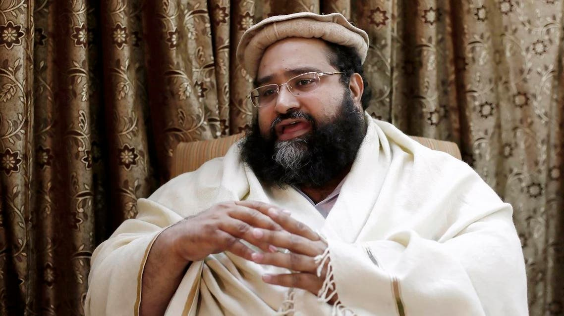 Tahir Ashrafi, head of the powerful Ulema Council of clerics, speaks during an interview with Reuters in Islamabad December 13, 2013. (File photo: Reuters)
