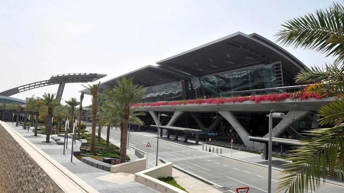 This April 2014 file photo shows the empty main terminal building of the Hamad International Airport (HIA) in Doha, Qatar. Saudi Arabia and three Arab countries severed ties to Qatar on Monday, June 5, 2017 and moved to cut off land, sea and air routes to the energy-rich nation that is home to a major U.S. military base, accusing it of supporting regional terror groups. (AP)