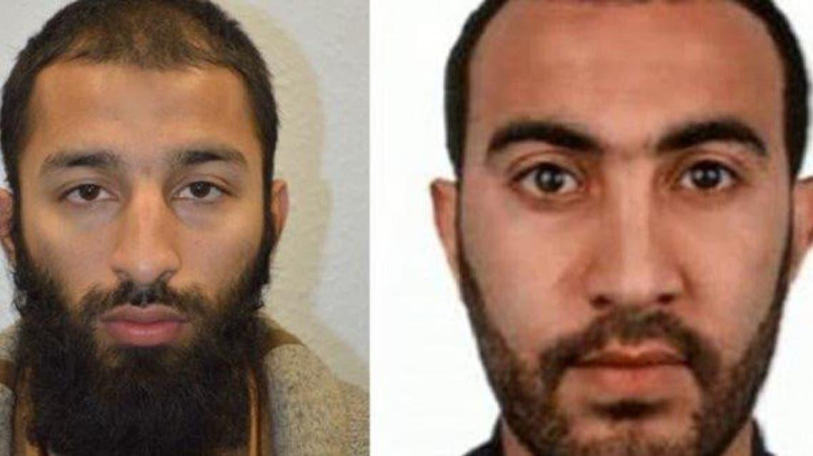 پلیس بریتانیا هویت دو مهاجم لندن را شناسایی کرد