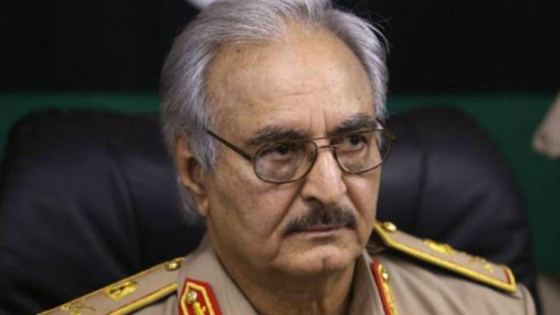 ژنرال حفتر: قطر باید تاوان حمایتش از تروریسم را بپردازد