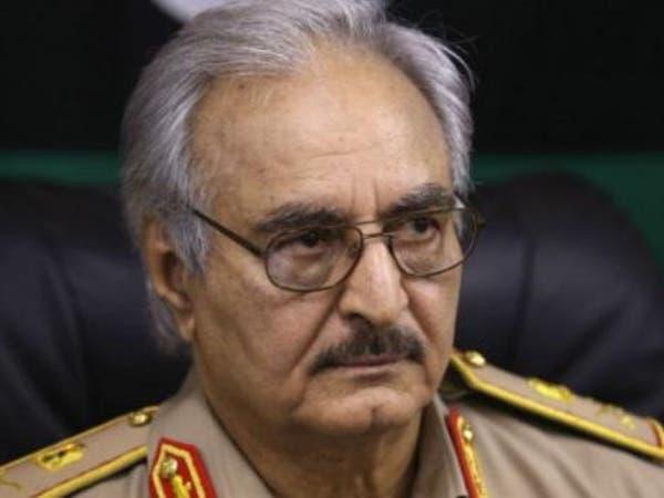 """حفتر يعلن """"المساحات"""" التي باتت تحت سيطرة الجيش الليبي"""