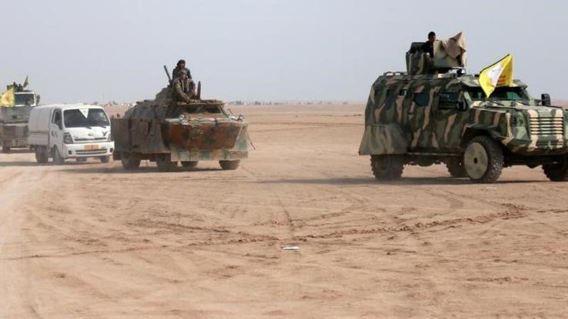 أحد عناصر قوات سوريا الديموقراطية