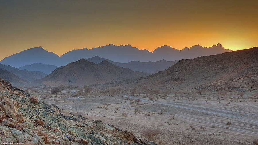 Saudi Mountain