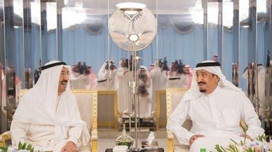 الملك سلمان وأمير الكويت يبحثان المستجدات في المنطقة