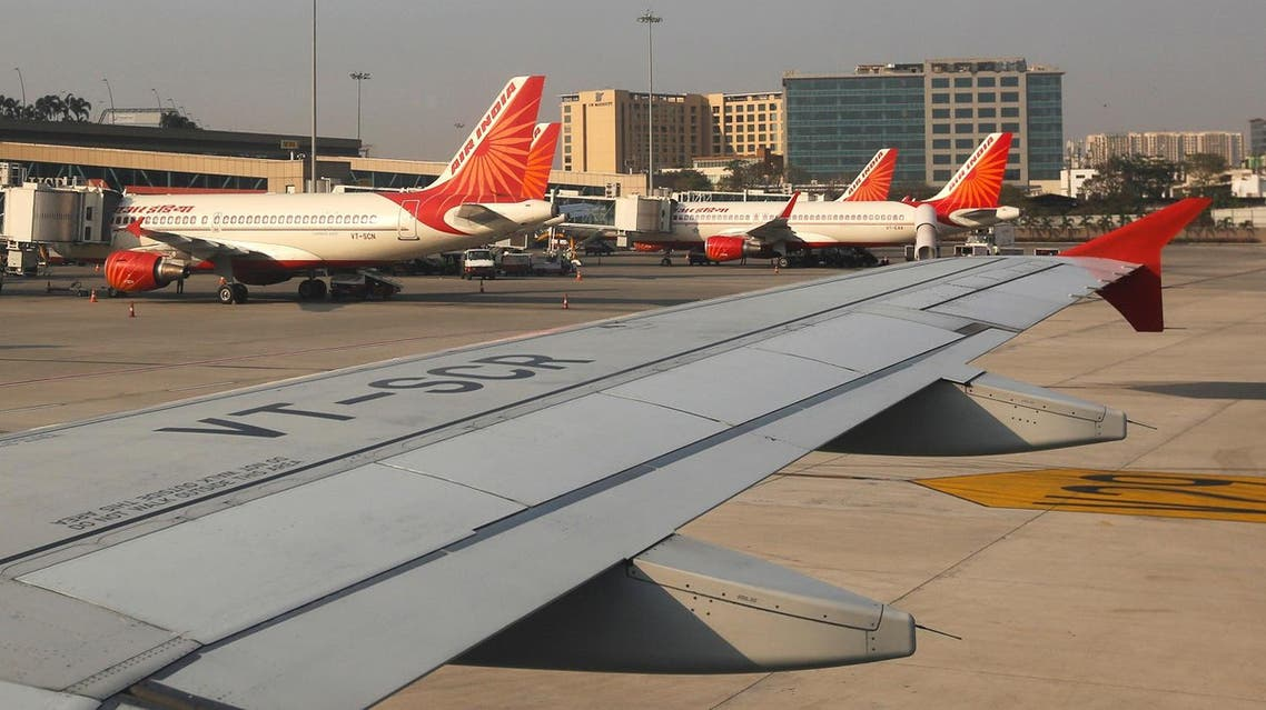 Air India passenger planes are seen parked at the Chhatrapati Shivaji International airport in Mumbai, India, February 7, 2017. Picture taken February 7, 2017. (reuters)