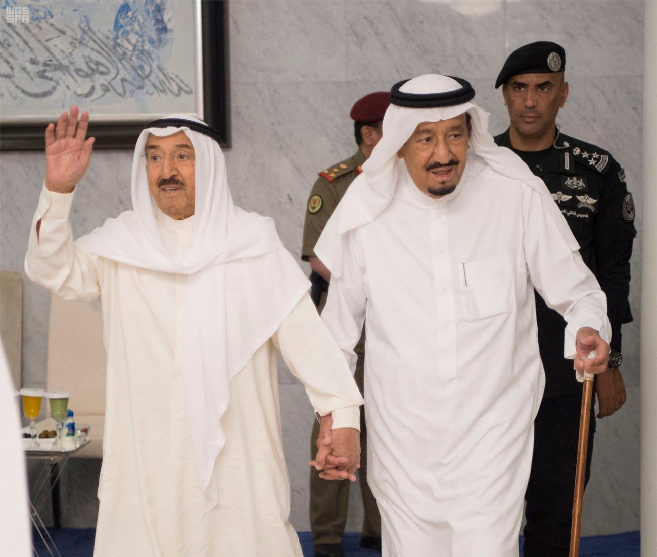 Kuwaiti Emir in Saudi Arabia as Qatar ready to accept mediation efforts