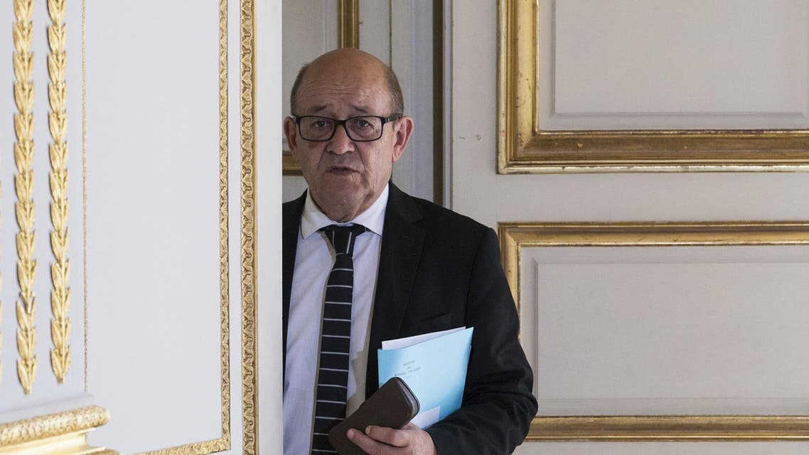 French Foreign Minister Jean-Yves Le Drian, reuters photo