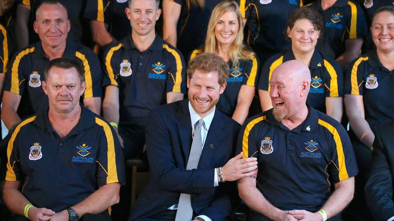 Prince Harry Starts Countdown To 2018 Sydney Invictus Games Al