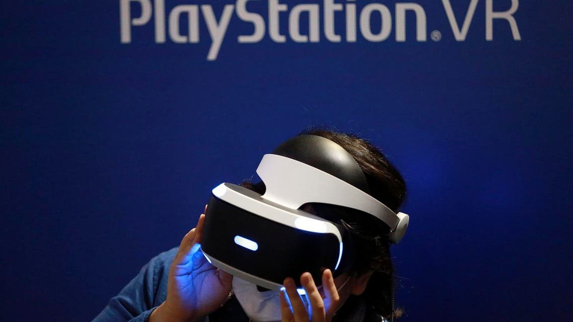 """Sales of the PlayStation VR headset, released in October, have """"exceeded our expectations,"""" Atsushi Morita, president of Sony Interactive Entertainment Japan Asia. (AP)"""