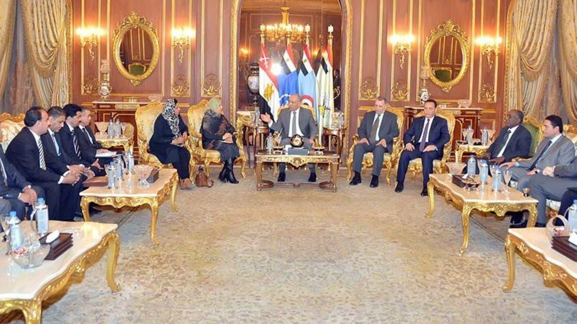 اللجنة المصرية المعنية بليبيا