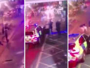 شاهد الشرطة البريطانية تنقضّ وتقتل الداهسين الطاعنين