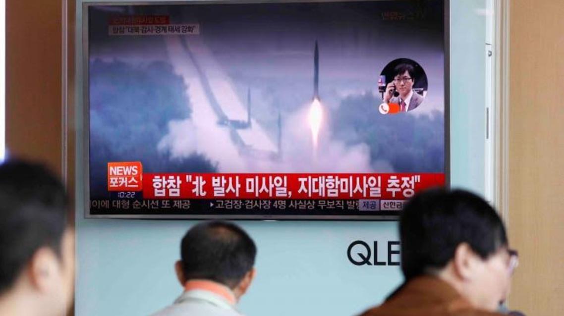 کره شمالی چندین موشک ضد کشتی شلیک کرد