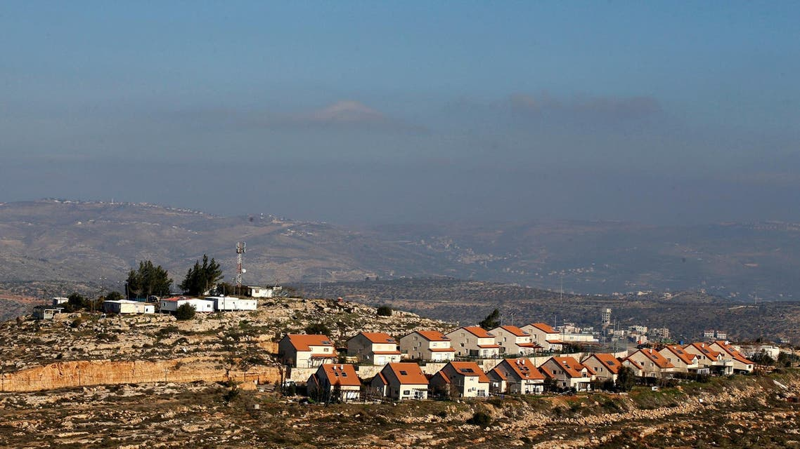 Israeli outpost in occupied west bank