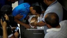 Palestinians say man killed at protest on Gaza border