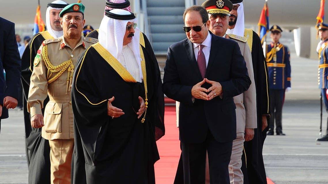king bahrain sisi