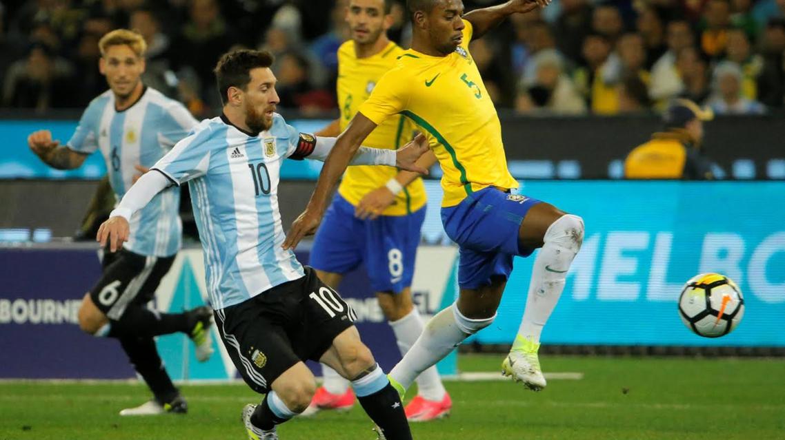 شکست برزیل از آرژانیتن در یک دیدار دوستانه