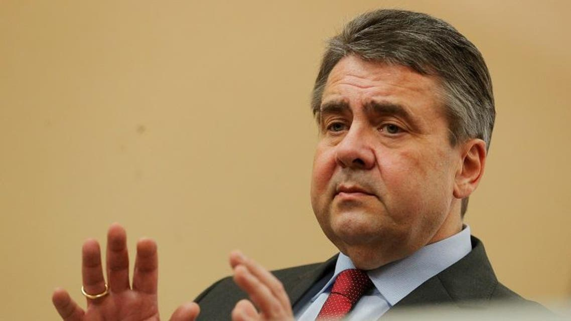 Germany's Foreign Minister Sigmar Gabriel addresses a news conference in Vienna, Austria. (File photo: Reuters)