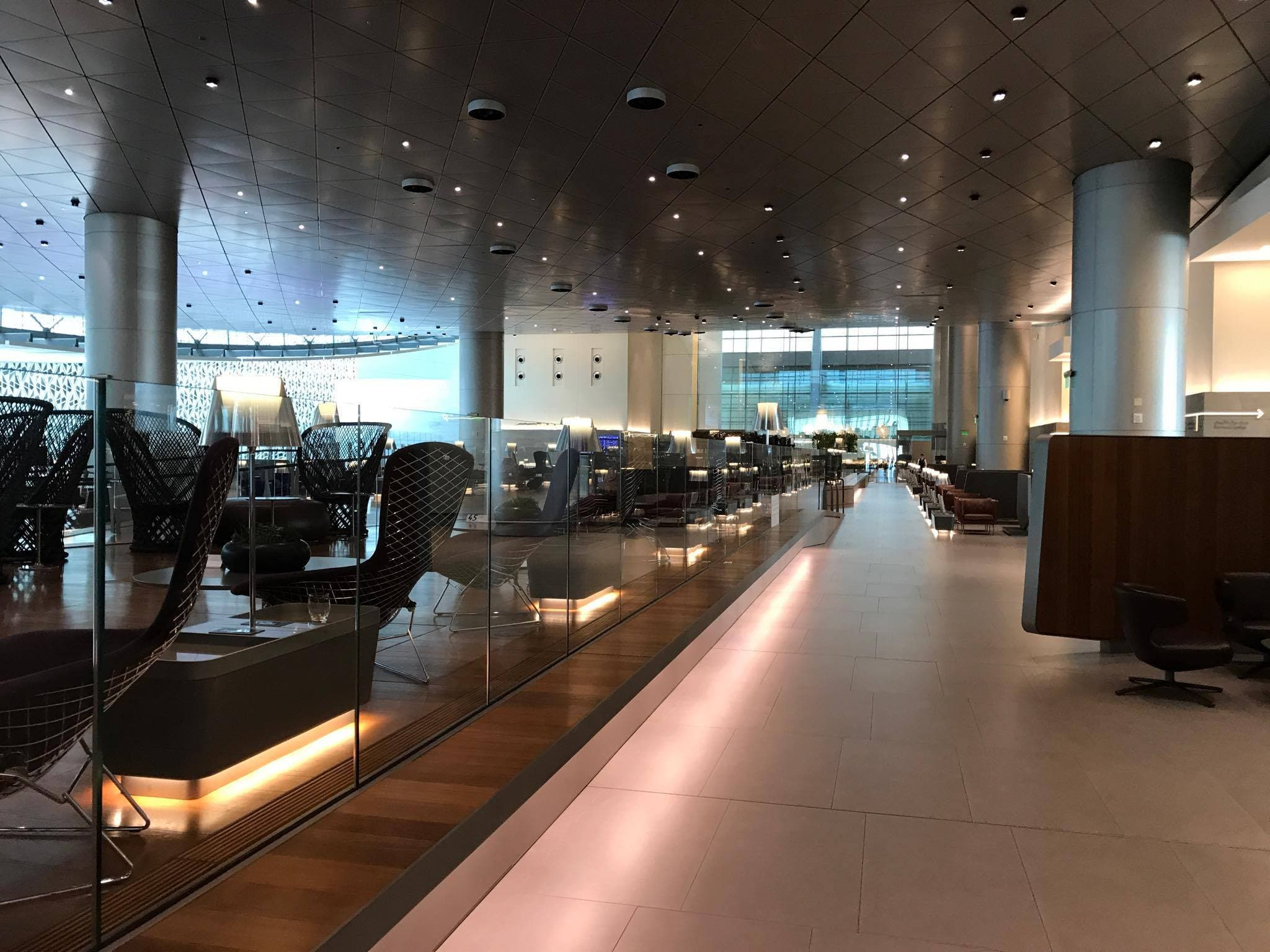 من مطار حمد الدولي في الدوحة