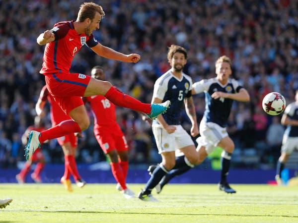 هاري كين ينقذ إنجلترا من السقوط في اسكتلندا