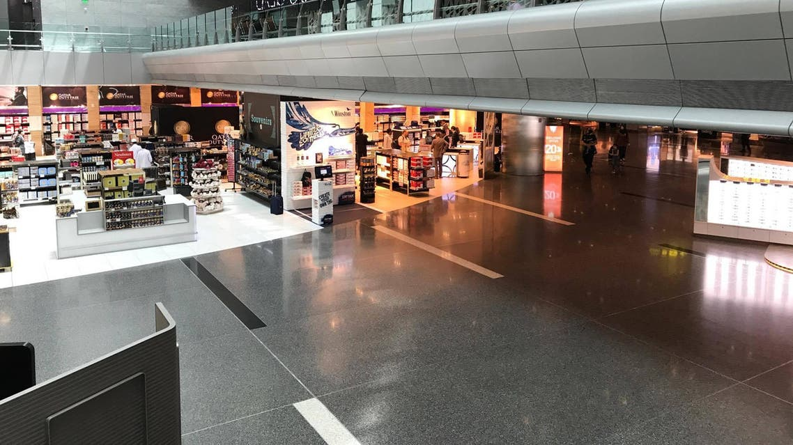 IN PICTURES: Travel writer documents almost deserted Hamad International Airport