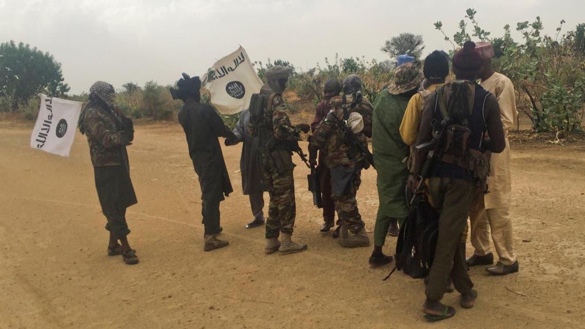 Boko Haram militants in Nigeria, May 6, 2017. (Reuters)
