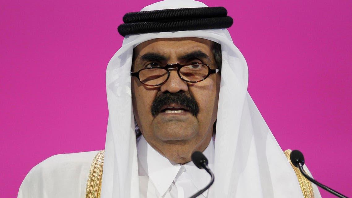 Former Qatari emir, Hamad bin Khalifa Al Thani, allegedly paid $1 million to attain videos of his interviews with al-Qaeda members. (Reuters)