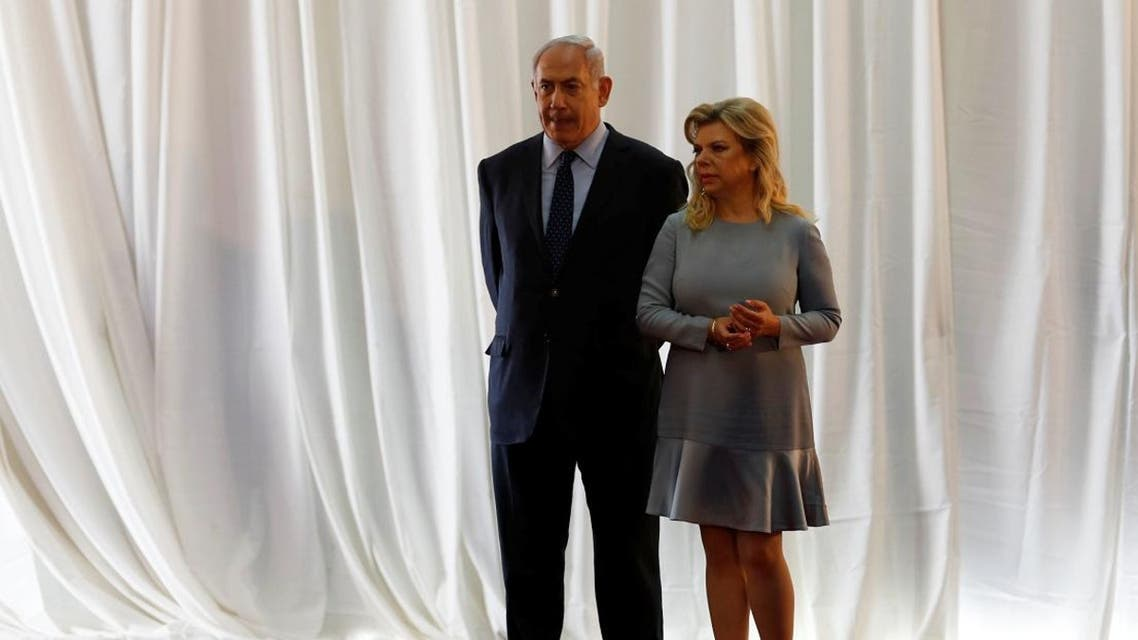 Israeli Prime Minister Benjamin Netanyahu and his wife Sara are seen during a ceremony in Jerusalem on June 6, 2017. (Reuters)