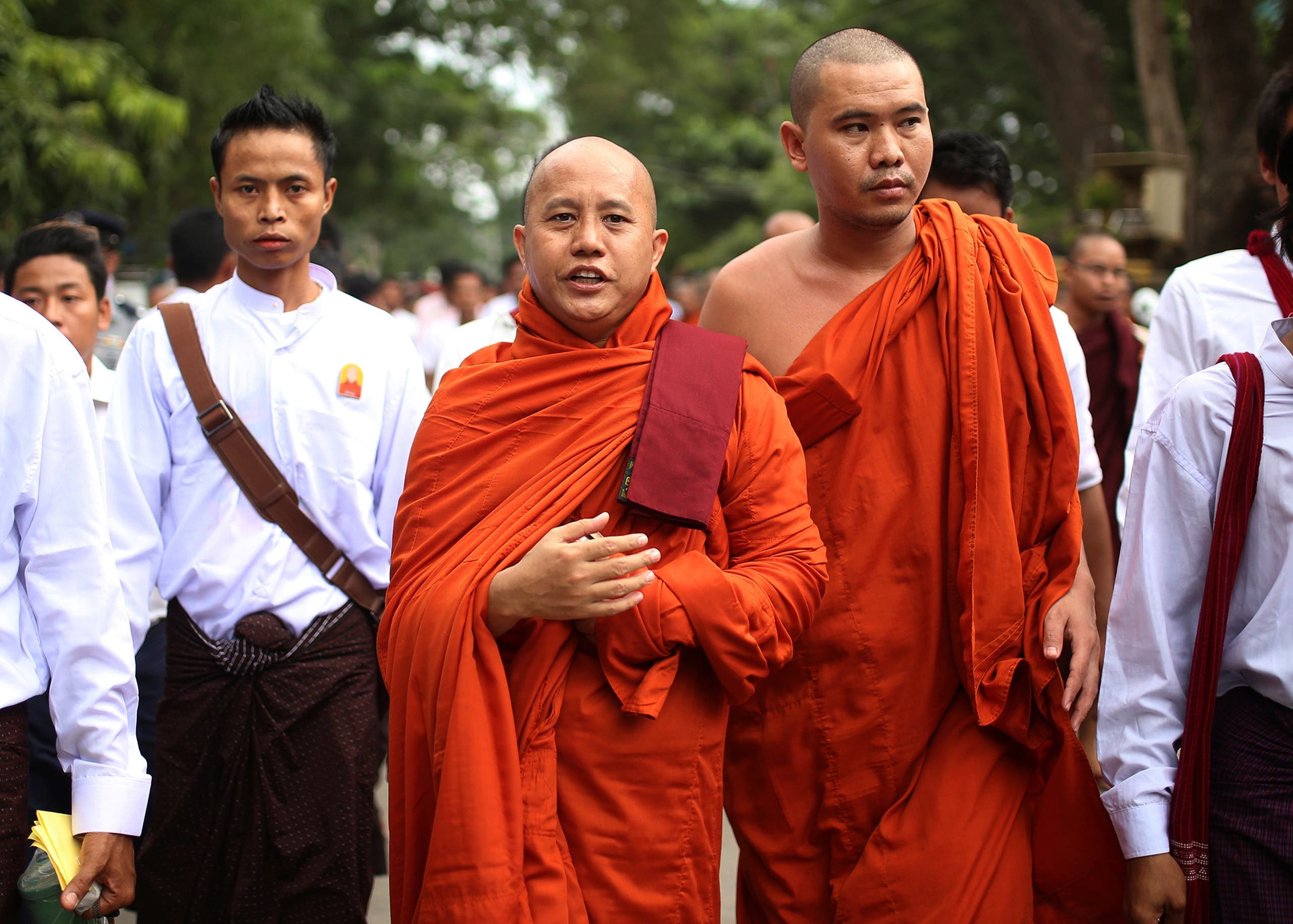 Ashin Wirathu, Communal Leader of the anti-Muslim Movement in Myanmar. (Supplied)
