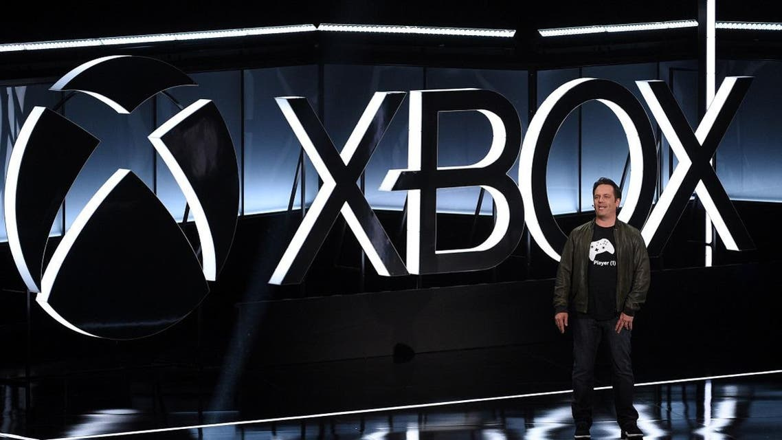 Head of Microsoft Xbox Phil Spencer speaks during the Xbox E3 2017 media briefing in Los Angeles. (Reuters)