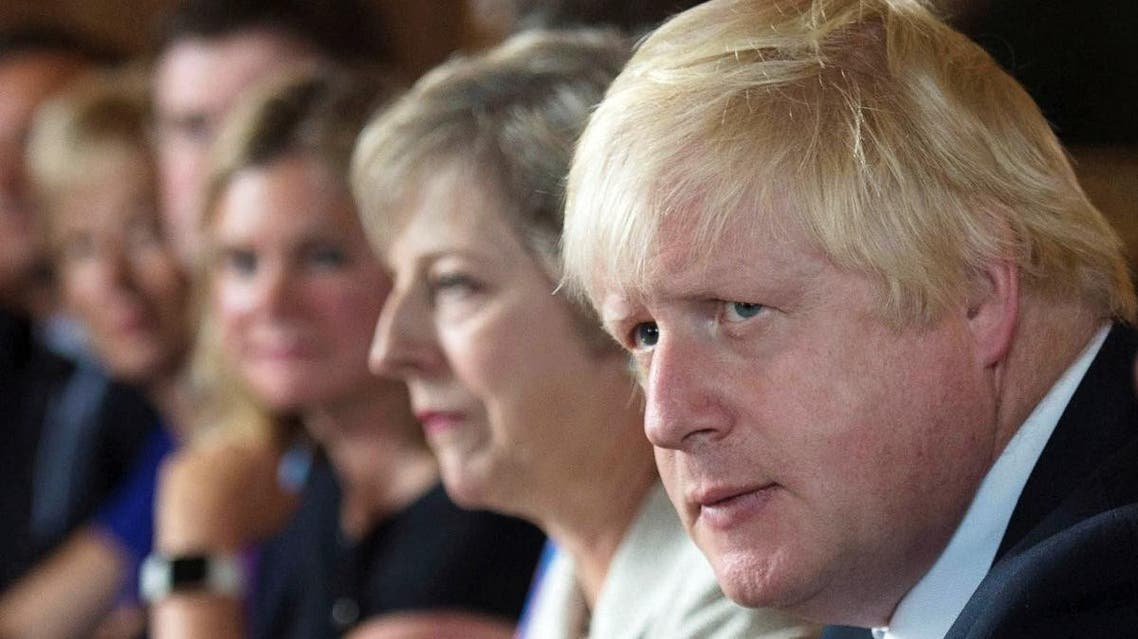 Foreign Secretary Boris Johnson attends a cabinet meeting hosted by Theresa May at the Prime Minister's country retreat Chequers in Buckinghamshire. (Reuters)
