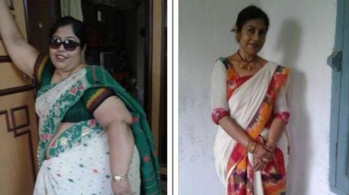 """""""Even doctors suffering from obesity are knocking at my door for help"""", Papiya Sen Bhattacharya told Al Arabiya. (Supplied)"""