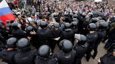 Thousands of Russians protest Putin's rule; Navalny arrested