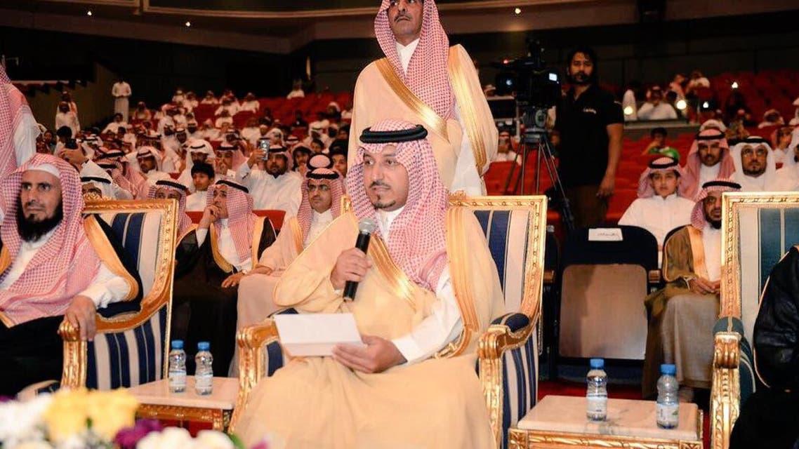 الأمير منصور بن مقرن نائب أمير عسير  يعلن عن المبالغ المتبرع بها