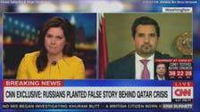 """""""القاعدہ کے مالی معاون"""" سے متعلق سوال پر قطر کے سفیر کی بوکھلاہٹ"""