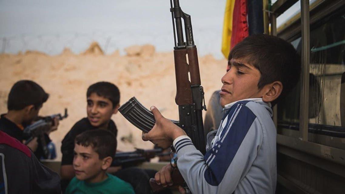 THUMBNAIL_ أطفال العراق.. ذخيرة ميليشيا الحشد بمعاركه