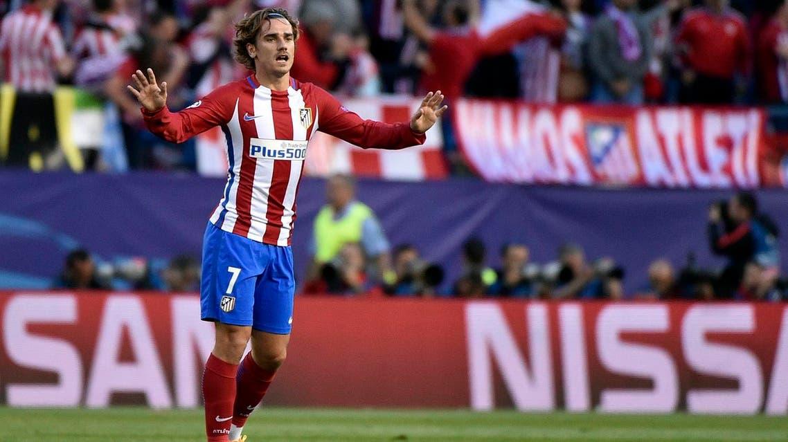 Atletico Madrid's Antoine Griezmann (AFP)
