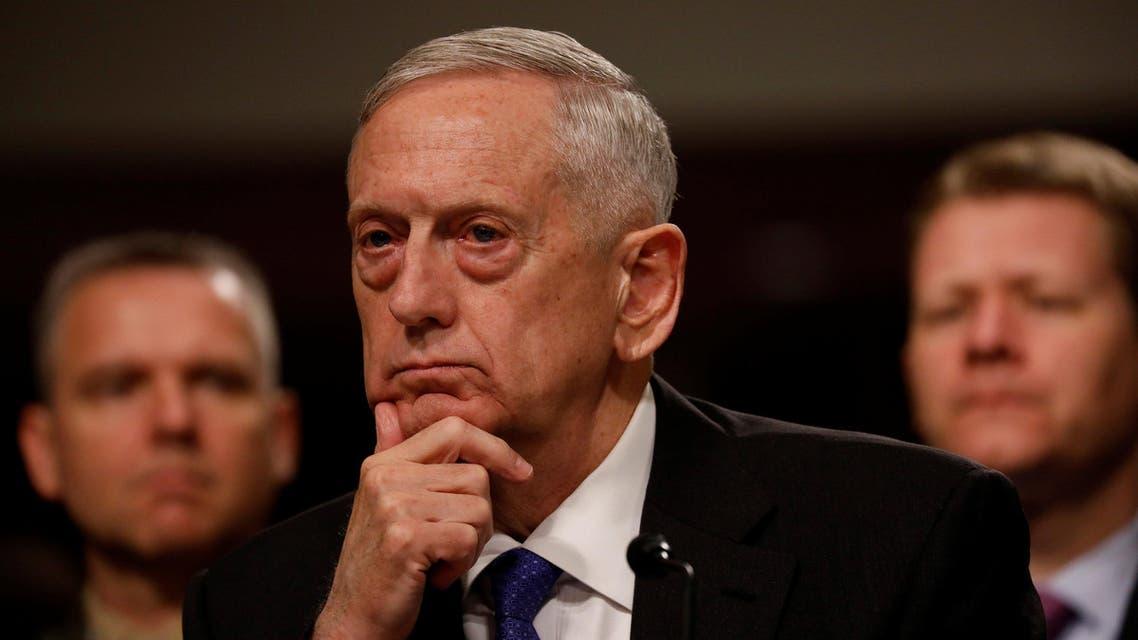وزير الدفاع الأميركي جيم ماتيس