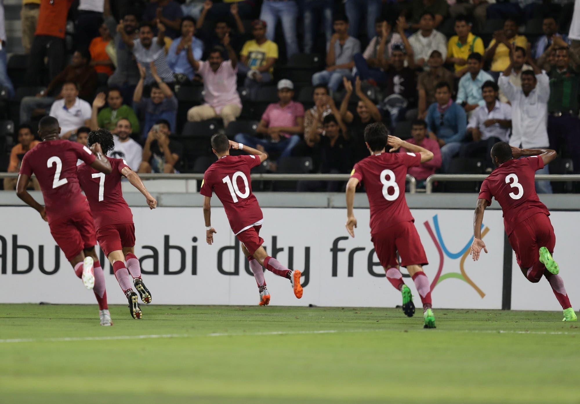 qatar wolrd cup 18 qualifiers reuters