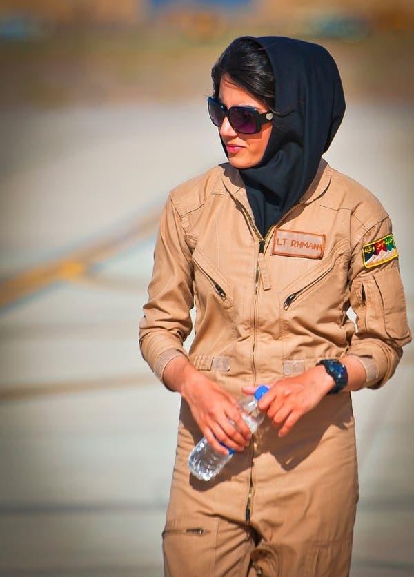 نیلوفر رحمانی- اولین خلبان زن افغان بعد از سقوط رژیم طالبان