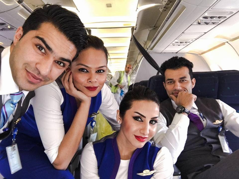 بهار سهیلی- مهماندار افغان در یک شرکت هوایی خصوصی در افغانستان