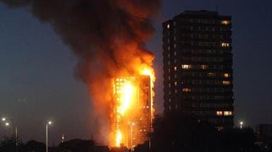 بريطانيا.. ماي تأمر بتحقيق شامل وعلني في حريق البرج