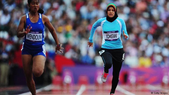 تهمینه کوهستانی- ورزشکار افغان