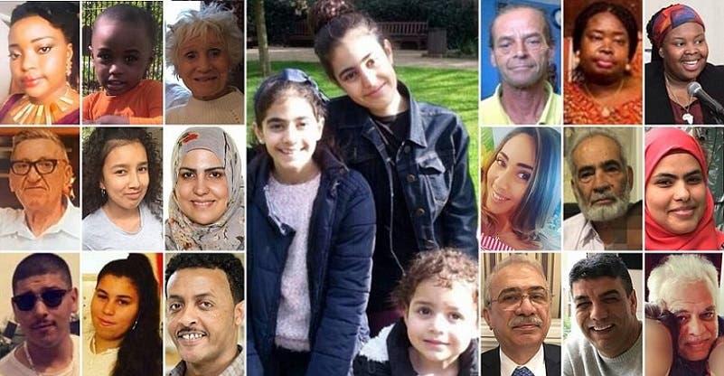 صور عدد من المفقودين، ومعظمهم من العرب والمسلمين