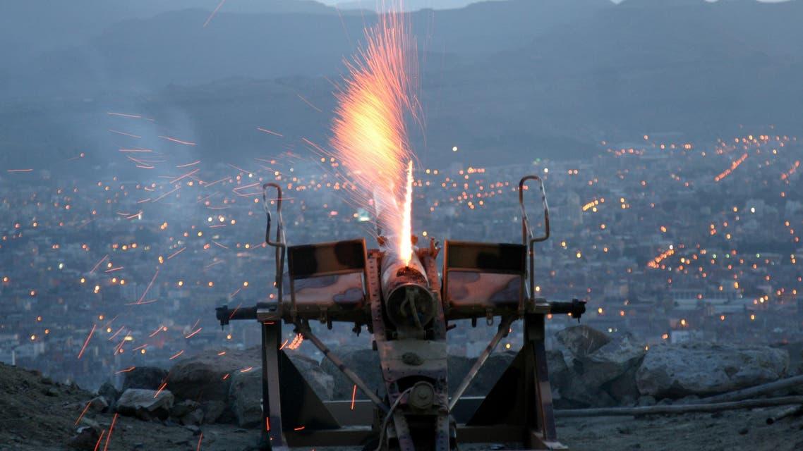 Nuqm Mountain Cannon Yemen